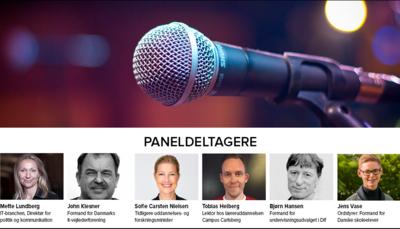 Se paneldebatten om fremtidens digitalfag!
