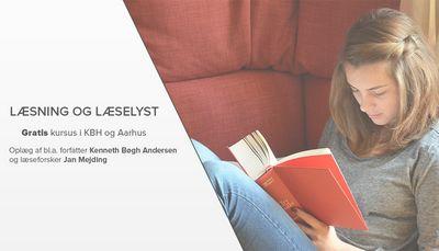 Gratis kursus om læsning og læselyst