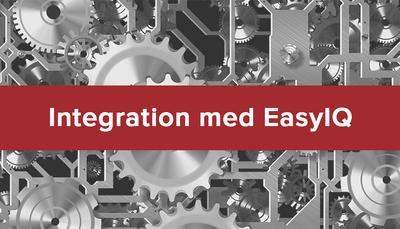 EasyIQ – ny integration på plads