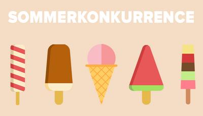 Sommerkonkurrence: Vind is til dig og dine kollegaer