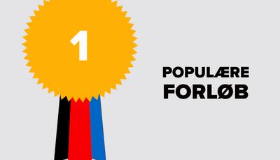 Se skoleårets mest populære forløb