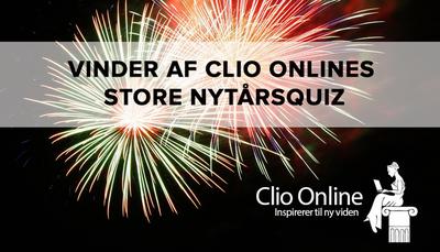 Enghavegård Skole vandt Clio Onlines store nytårsquiz
