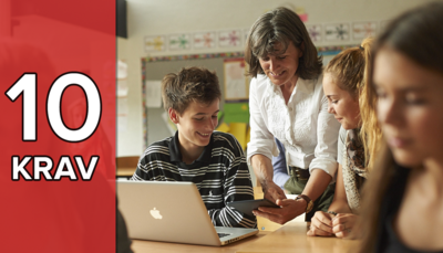 10 krav du skal stille til dine digitale læremidler