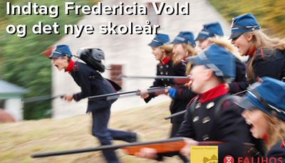 Gratis event: Få inspiration til at planlægge året, og indtag Fredericia vold