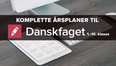 Årsplaner fra Danskfaget 2016/2017
